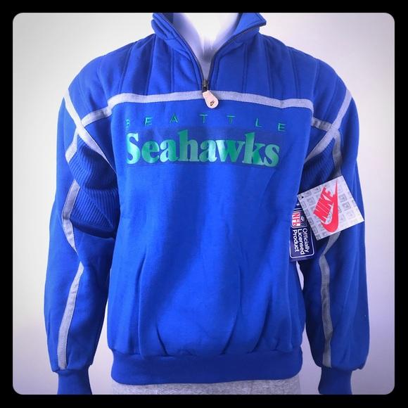 23db4c923 Vintage Nike Seattle Seahawks NFL Sweatshirt NEW!